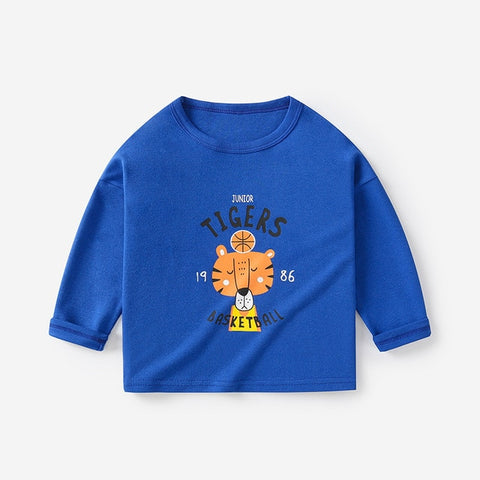 Fashion Baby Shirt Cotton Long Sleeve Tops T-shirts For Kids Girl Boy Clothes Baby Tops Blouse Infant Costume