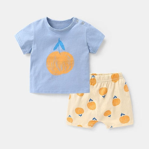 Brand Baby Set Kids Boy Dinasuar Clothes Casual T-shirts + Shorts Suit For Toddler Boy's Fashion Wear Infant Baby Boy Clothing