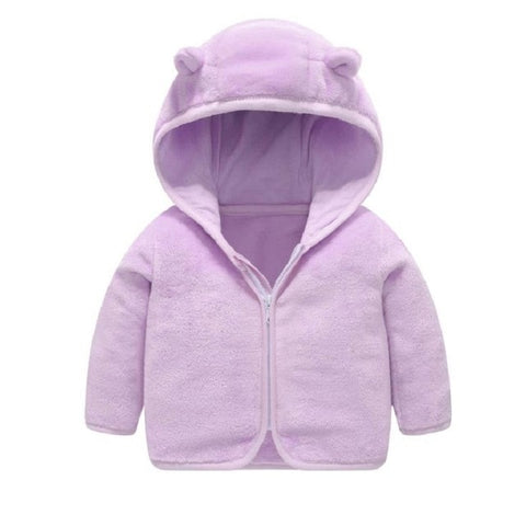 BABY BOY winter coat fleece toddler infant long sleeve hooded jacket kids girls clothes cartoon cute 2020 children clothing 1-6Y
