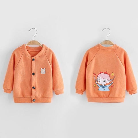 Infant Toddler Girls Boys Coat Autumn Winter Warm Clothing Newborn Baby Jackets Knitted Sweater Coat for Children 's Outwear