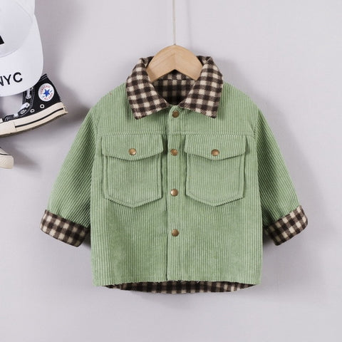 New Baby Autumn Winter Fashion Clothes Kids Boys Girls Thicken Shirt Children Infant Casual Costume Toddler Cotton Clothing