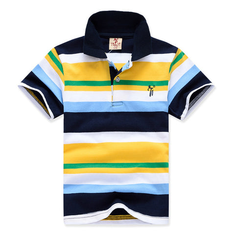 Toddler Boy Kid Stripe Top Tees 2-11yrs Baby Boys T shirts Summer 2018 Boys Cotton T shirts Shorts Sleeve Children Clothing Boys Clothes