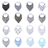 Baby Boys/Girls Assorted Bandanna Bibs 16pcs Set