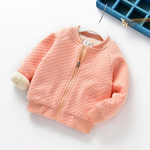 2017 Cotton Thick Jacket for Newborns Baby Boy Girl Autumn Fashion Outerwear Children's Clothing Coat Toddler Coats Clothes 0-3T