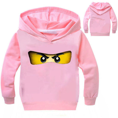 Kids Girls Clothes Ninja Ninjago Hoodies Top Tees T Shirts Children Long Sleeve Coat Baby Girls Jacket Outwear Clothing