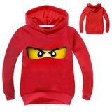 Copy of Kids Girls Clothes Ninja Ninjago Hoodies Top Tees T Shirts Children Long Sleeve Coat Baby Girls Jacket Outwear Clothing