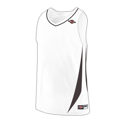 Shirts & Skins White/Graphite Franchise Game Jersey