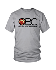 Grey Overseas Basketball Combine Performance Blend Tee