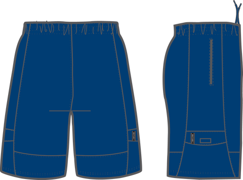 Shirts & Skins Navy Competitor Cargo Short