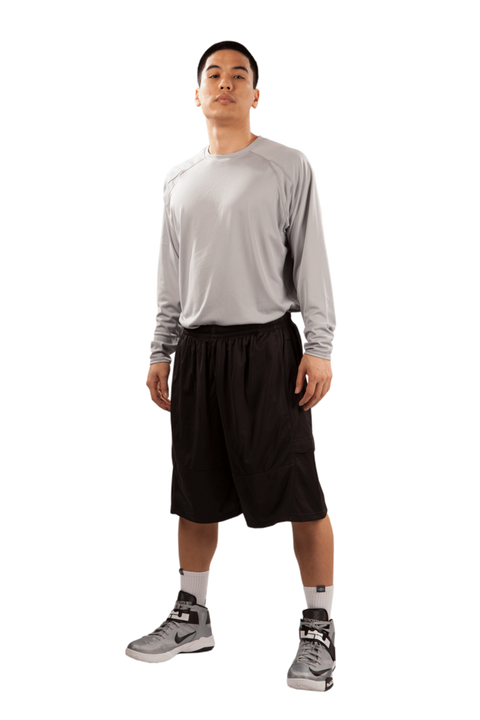 Shirts & Skins Black Competitor Cargo Short