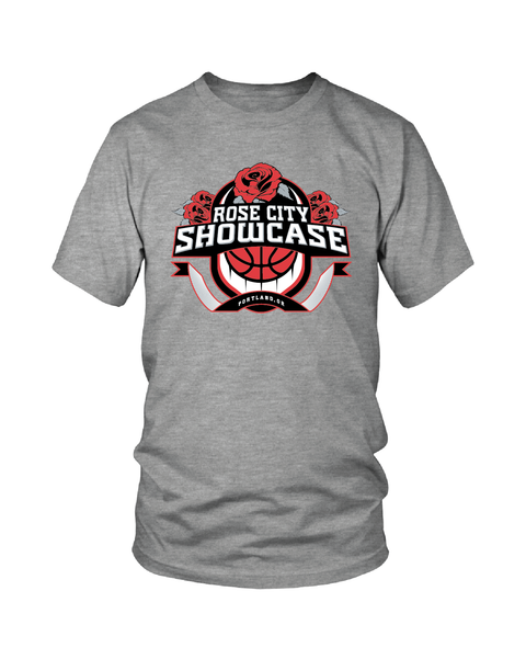 Vintage Heather Rose City Showcase Logo Performance Tee