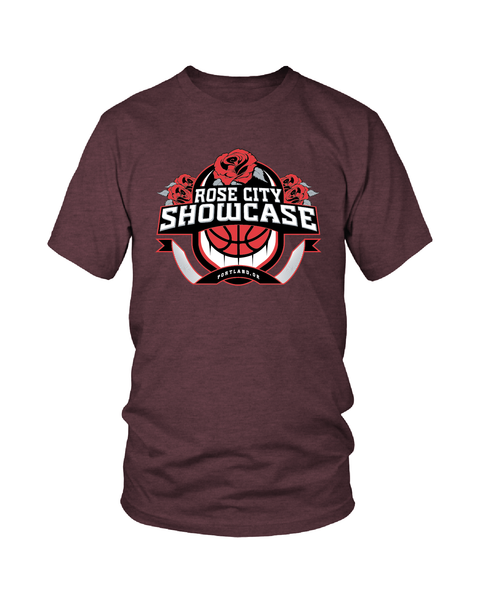 Cardinal Heather Rose City Showcase Logo Performance Tee
