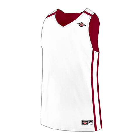 Shirts & Skins Cardinal/White League Reversible Jersey