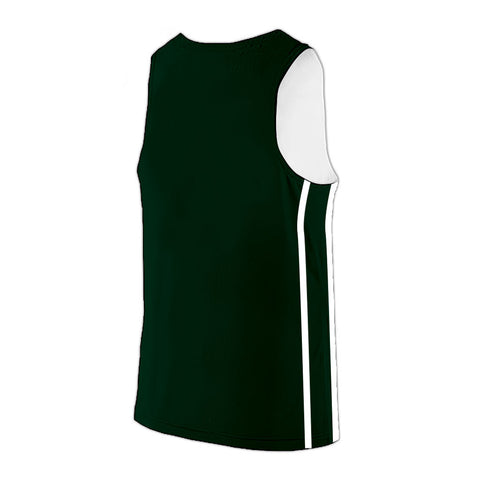 Shirts & Skins Dark Green/White League Reversible Jersey