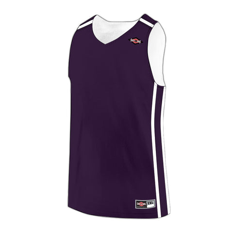 Shirts & Skins Purple/White League Reversible Jersey