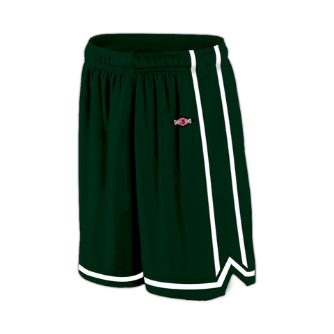 Shirts & Skins Dark Green/White League Reversible Short