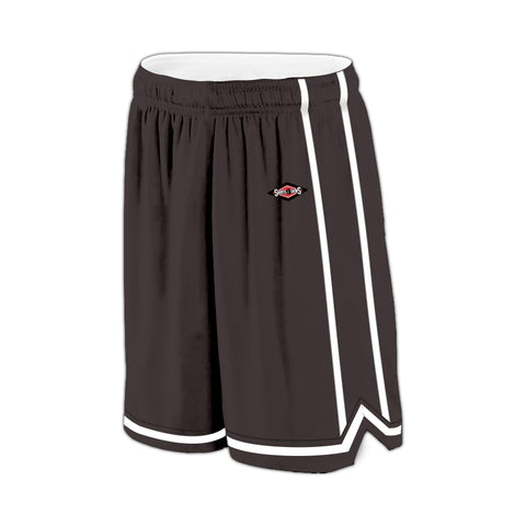 Shirts & Skins Graphite/White League Reversible Short