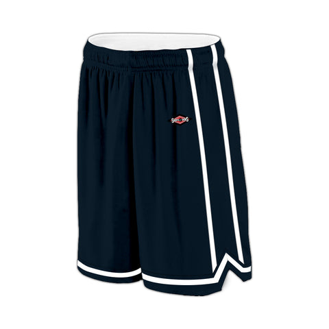 Shirts & Skins Navy/White League Reversible Basketball Uniform