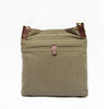 multiple compartments, purse with comfortable strap, green Daily Crossbody Bag.