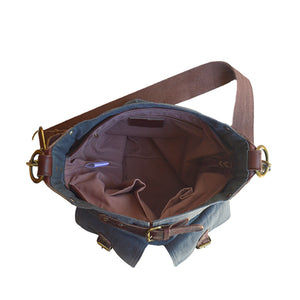 interior of canvas bag, Daily Crossbody Bag.