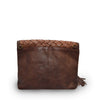 Iris Leather Clutch
