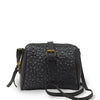 Black quilted leather crossbody bag, Sam Quilted Crossbody.