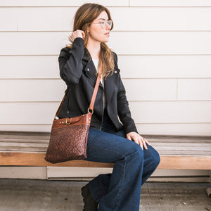 Joan Quilted Crossbody Bag