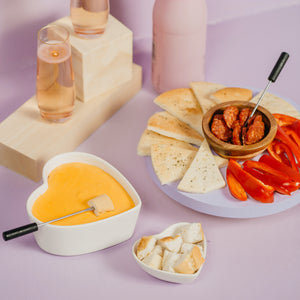 Decadent Cheese Fondue