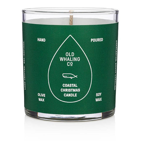 Costal Christmas Candle