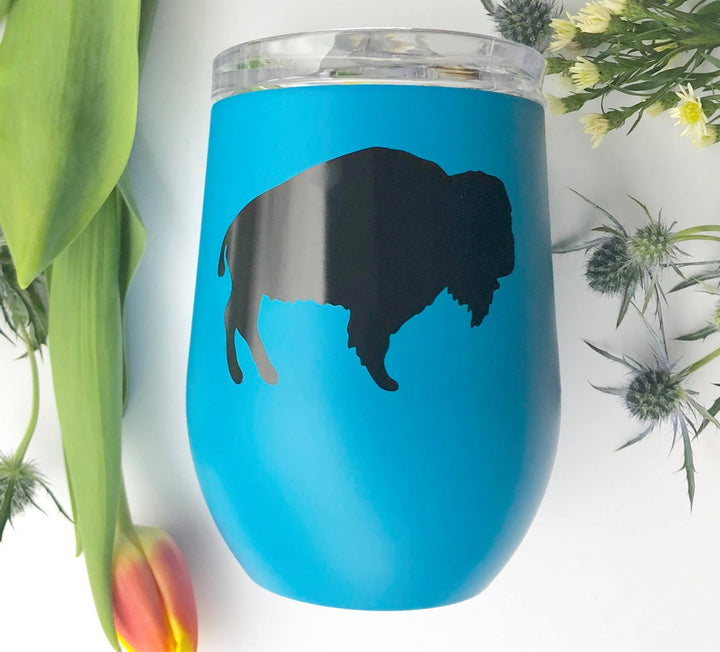 Stemless Insulated Wine Glass with Lid