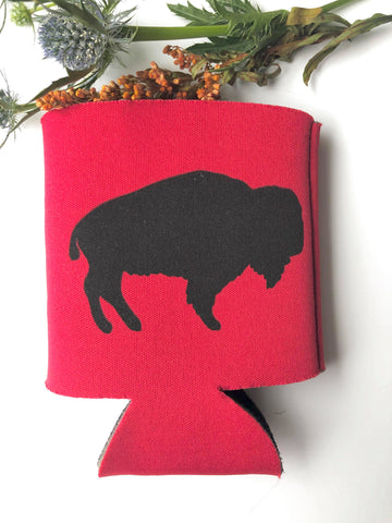 Red Buffalo Coozie