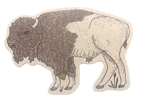 Bison Post Card