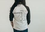 Adventure mountains baseball tee