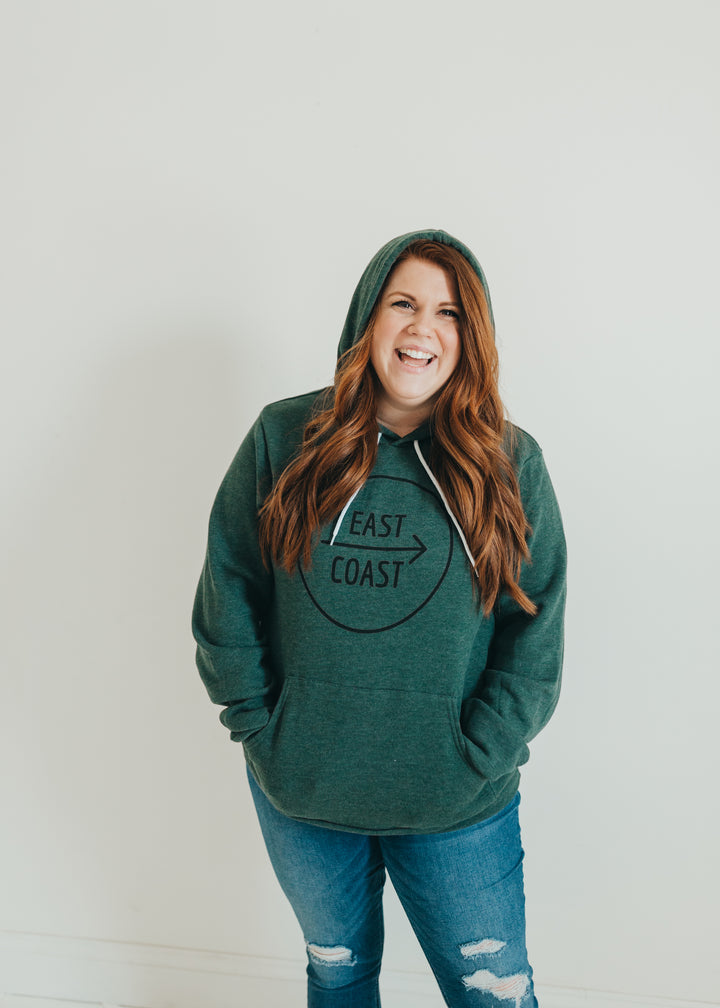East Coast evergreen sweatshirt