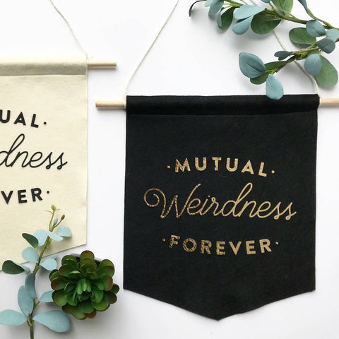 Mutual Weirdness Forever Banner
