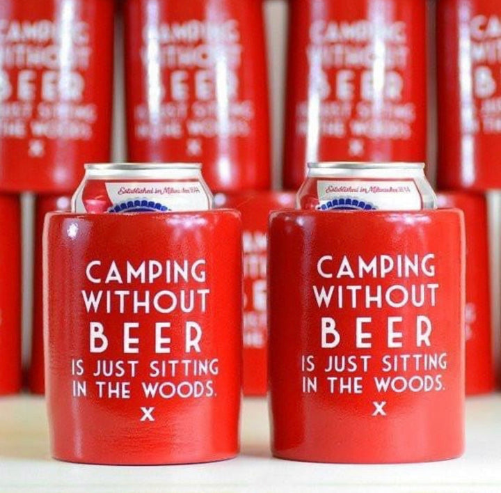 Camping coozie