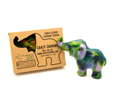 Elephant crayon -XL multi colored
