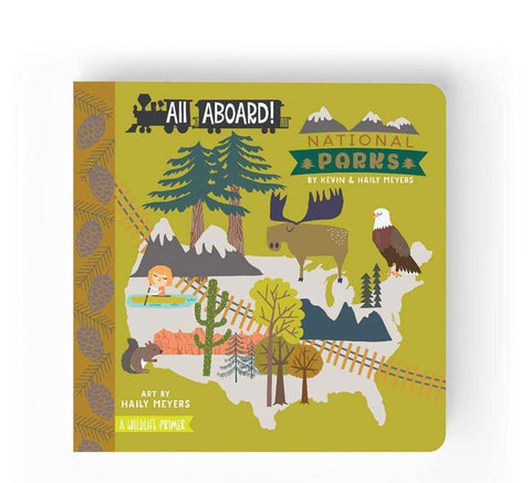 National park kids book
