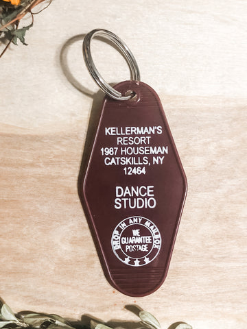 Kellermans dirty dancing key chain