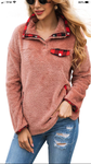 Pre-Order only- Red Sherpa pullover