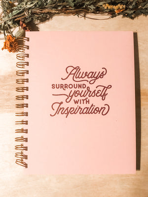 Inspiration notebook