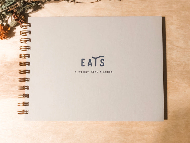Eats meal planning notebook
