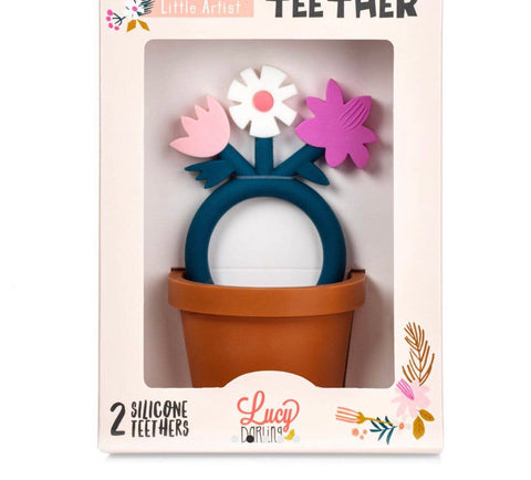 Little artist flower teether