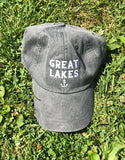 Charcoal Great Lakes hat