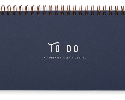Simple TO Do notebook