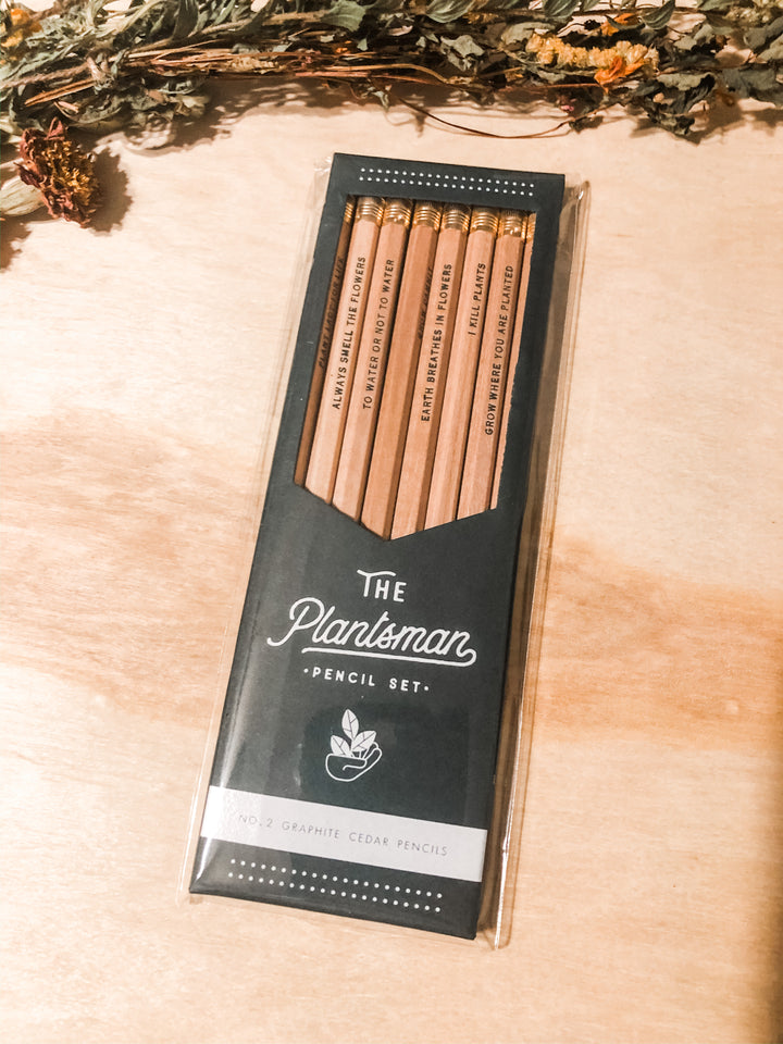 The plantsman pencil set