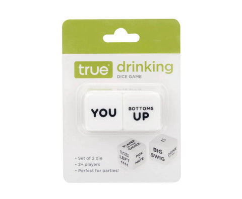 True drinking game dice