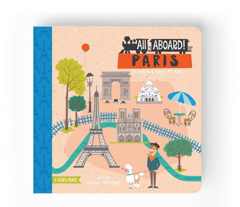 All aboard Paris children's book