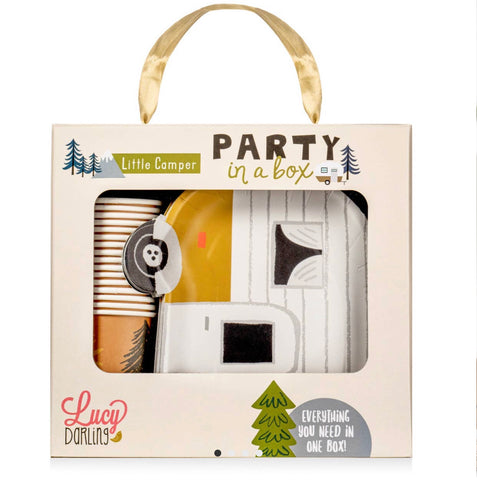 Little camper party box