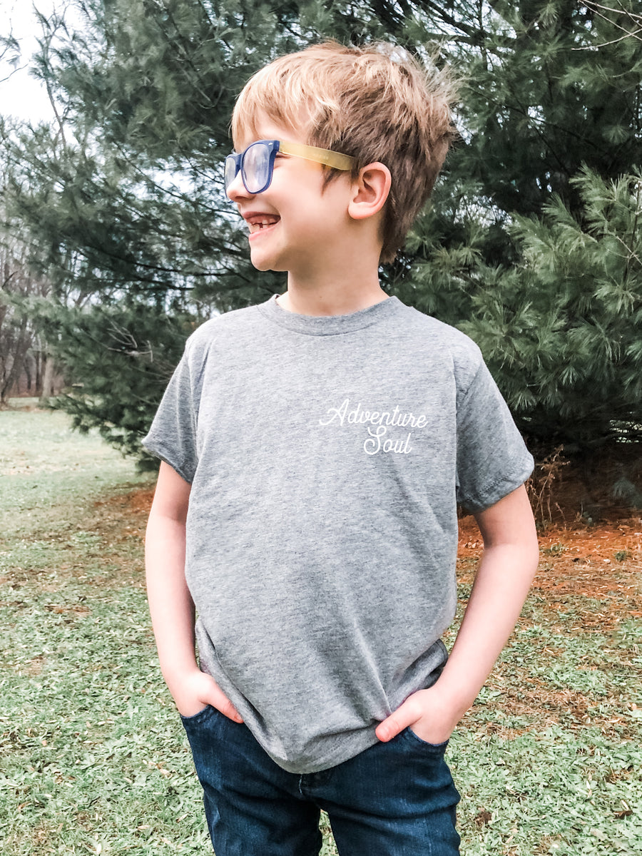 Adventure soul toddler tee